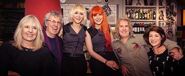 MonaLisa Twins with John & Barbara Cameron and Steve Grant & Deena Payne
