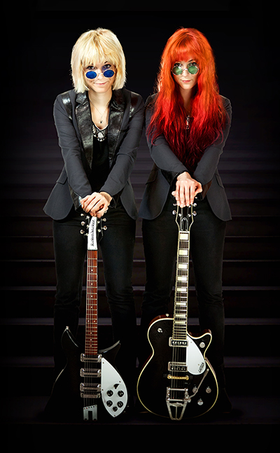 MonaLisa Twins with  Guitars